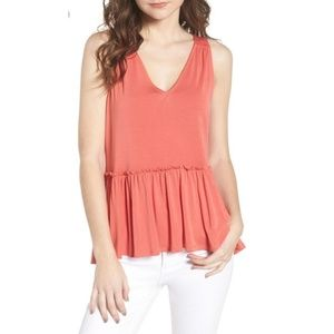 Chelsea28 coral spice top